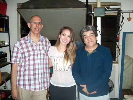 Vagner Vargas, Patrycia Ayres e Luiz Henrique Mendes