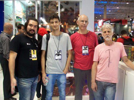 Daniel Abrahão, Diego Cunha, Vagner Vargas, Douglas Quinta Reis